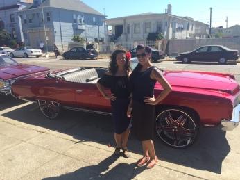 Vanessa and Monica at Xicana Moratorium